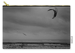 Grainy Wind Surf Carry-all Pouch