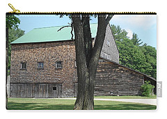 Grammie's Barn Through The Trees Carry-all Pouch by Kerri Mortenson