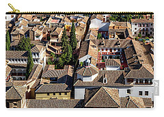 Granada Townscape Carry-all Pouch by Anthony Dezenzio