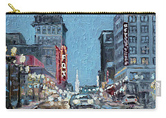 Grand Boulevard At Night, St.louis Carry-all Pouch