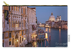 Carry-all Pouch featuring the photograph Grand Canal Twilight by Brian Jannsen
