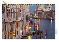 Carry-all Pouch featuring the photograph Grand Canal Twilight II by Brian Jannsen