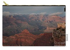 Carry-all Pouch featuring the photograph Grand Canyon 1 by Debby Pueschel