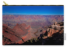 Carry-all Pouch featuring the photograph Grand Canyon 1 by Donna Corless