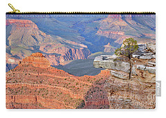 Carry-all Pouch featuring the photograph Grand Canyon 2 by Debby Pueschel