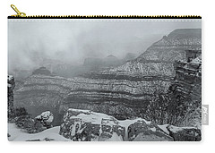 Grand Canyon In The Fog Carry-all Pouch