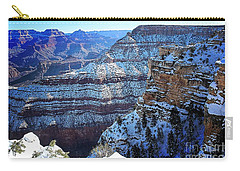 Grand Canyon National Park In Winter Carry-all Pouch
