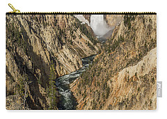 Grand Canyon Of The Yellowstone And Yellowstone Falls Carry-all Pouch
