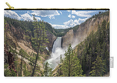 Grand Canyon Of Yellowstone Carry-all Pouch by Alpha Wanderlust