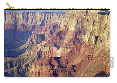 Carry-all Pouch featuring the photograph Grand Canyon South Rim by Norman Hall