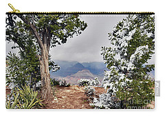 Grand Canyon Through The Trees Carry-all Pouch