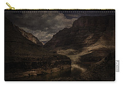 Carry-all Pouch featuring the photograph Grand Canyon - West Rim by Ryan Photography