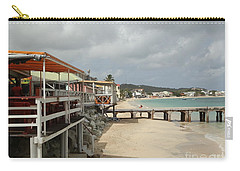 Grand Case Pier Carry-all Pouch by Margaret Brooks