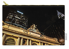 Grand Central Nocturne Carry-all Pouch by Steven Richman