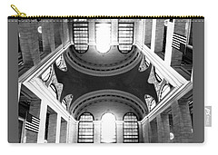 Carry-all Pouch featuring the photograph Grand Central Terminal Mirrored by Diana Angstadt