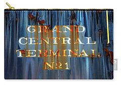 Carry-all Pouch featuring the photograph Grand Central Terminal No 1 by Karol Livote