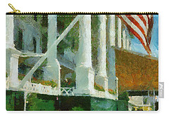 Grand Hotel Mackinac Island Carry-all Pouch by Michelle Calkins