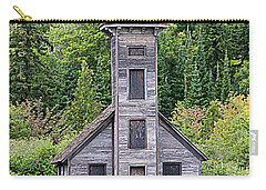 Grand Island East Channel Lighthouse #6554 Carry-all Pouch by Mark J Seefeldt
