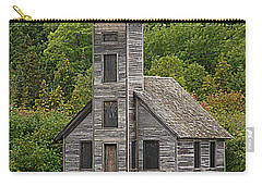 Grand Island East Channel Lighthouse #6664 Carry-all Pouch by Mark J Seefeldt