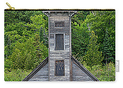Grand Island East Channel Lighthouse #6672 Carry-all Pouch by Mark J Seefeldt