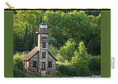 Grand Island Light House In Spring Carry-all Pouch
