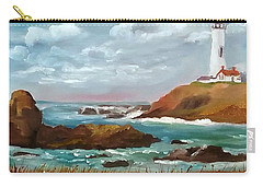 Grand Lighthouse Carry-all Pouch by Larry Hamilton