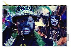 Grand Marshall Of The Zulu Parade Mardi Gras 2016 In New Orleans Carry-all Pouch by Michael Hoard