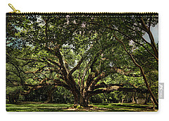 Grand Oak Tree Carry-all Pouch by Judy Vincent