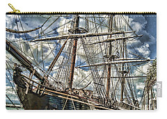 Carry-all Pouch featuring the photograph Grand Old Sailing Ship by Roberta Byram