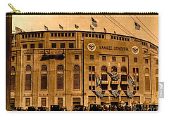 Carry-all Pouch featuring the photograph Grand Opening Of Old Yankee Stadium April 18 1923 by Peter Gumaer Ogden Collection