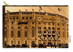 Grand Opening Of Old Yankee Stadium April 18 1923 Carry-all Pouch