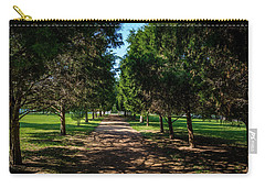 Carry-all Pouch featuring the photograph Grand Pathway - The Hermitage by James L Bartlett