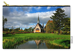 Grand-pre National Historic Site 04 Carry-all Pouch by Ken Morris