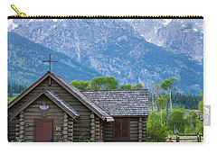 Grand Teton Church Carry-all Pouch