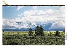 Grand Teton Countryside Carry-all Pouch by Serge Skiba