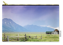 Grand Teton Homestead Carry-all Pouch