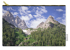 Grand Teton Peaks Carry-all Pouch by Serge Skiba
