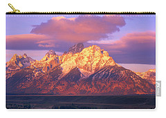 Grand Teton Sunrise Carry-all Pouch