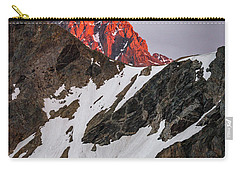 Grand Teton Sunset 2 Carry-all Pouch by Serge Skiba