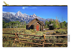 Grand Tetons Chapel Carry-all Pouch