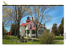Grand Traverse Light In Spring Carry-all Pouch by Rachel Cohen