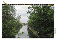 Carry-all Pouch featuring the photograph Grand Union Canal - Towards Hanger Lane by Mudiama Kammoh