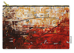 Carry-all Pouch featuring the painting Grand Vision by Carmen Guedez