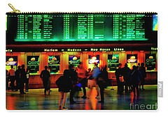 Carry-all Pouch featuring the photograph Grand Central Station Nyc by Tom Jelen