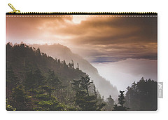 Grandfather Mountain Blue Ridge Mountains Of North Carolina Carry-all Pouch