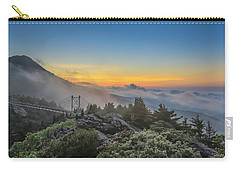 Grandfather Mountain Sunrise Carry-all Pouch