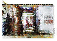 Carry-all Pouch featuring the photograph Grandma's Kitchen Tins by Claire Bull