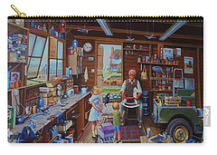 Grandpa's Workshop. Carry-all Pouch