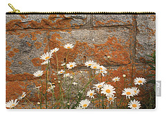Granite Daisies Carry-all Pouch