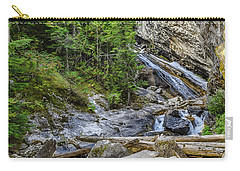 Carry-all Pouch featuring the photograph Granite Falls by Yeates Photography